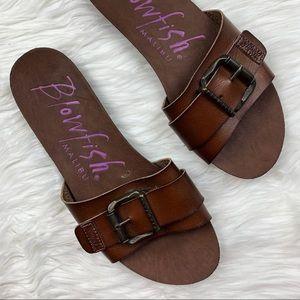 Blowfish Buckle Slide Sandals